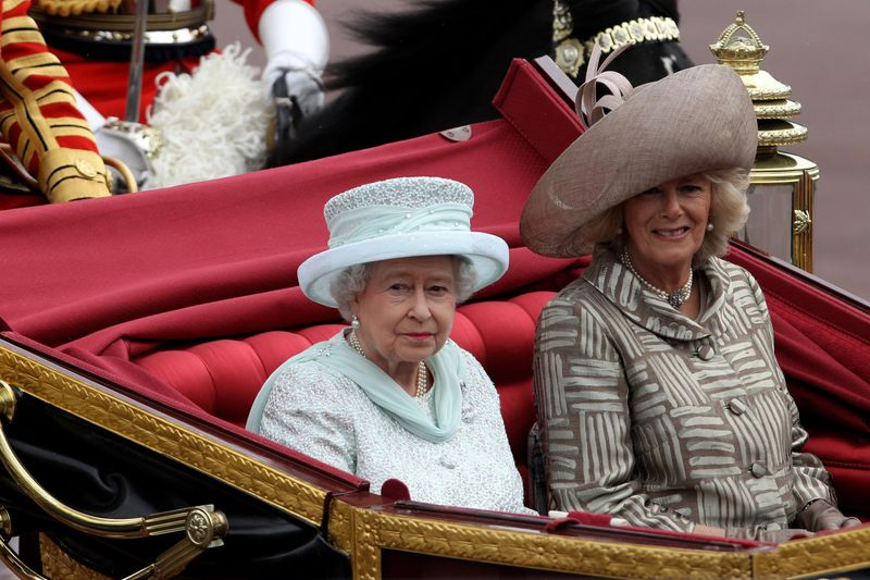 The Queen and Camilla