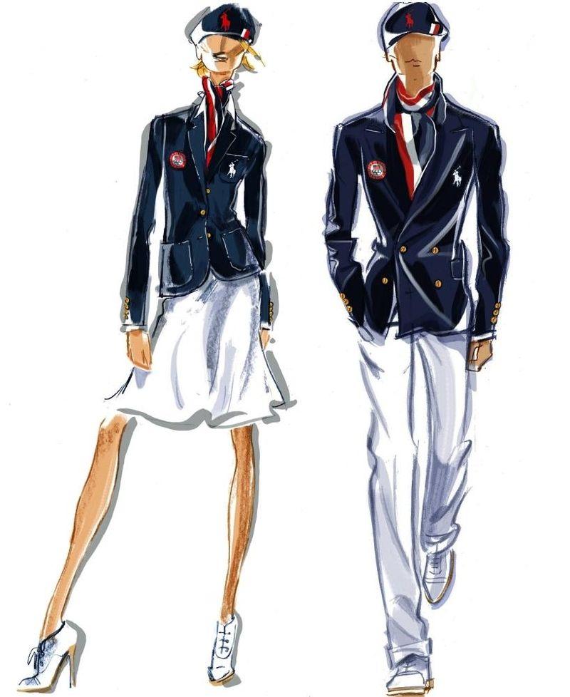 Team-usa-opeing-ceremony-uniform-uniforms-polo-ralph-lauren-sketches