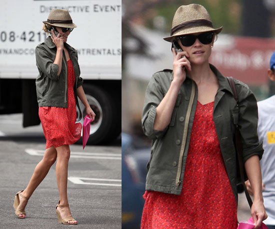 Reese Witherspoon Straw Fedora