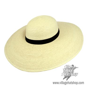 Sunbody 5 in wide brim straw hat